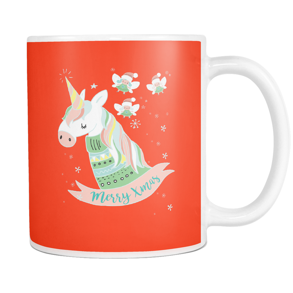 Enchanted Christmas Ceramic 11oz Mug - SoREALa
