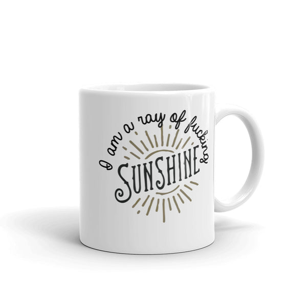 A Ray of F-ing Sunshine Coffee Mug - SoREALa