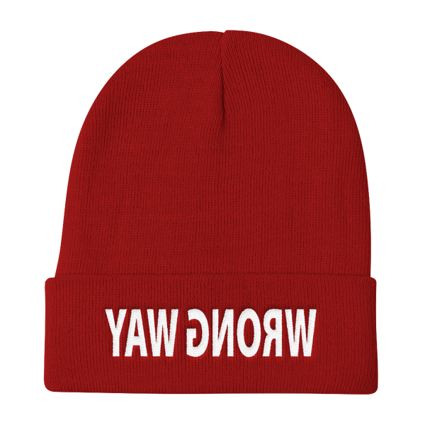 Wrong Way Knit Beanie - SoREALa