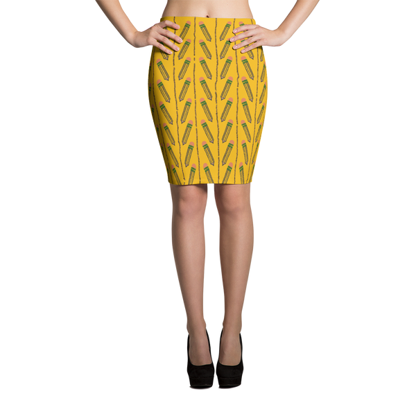 Get The Point Pencil Skirt - SoREALa