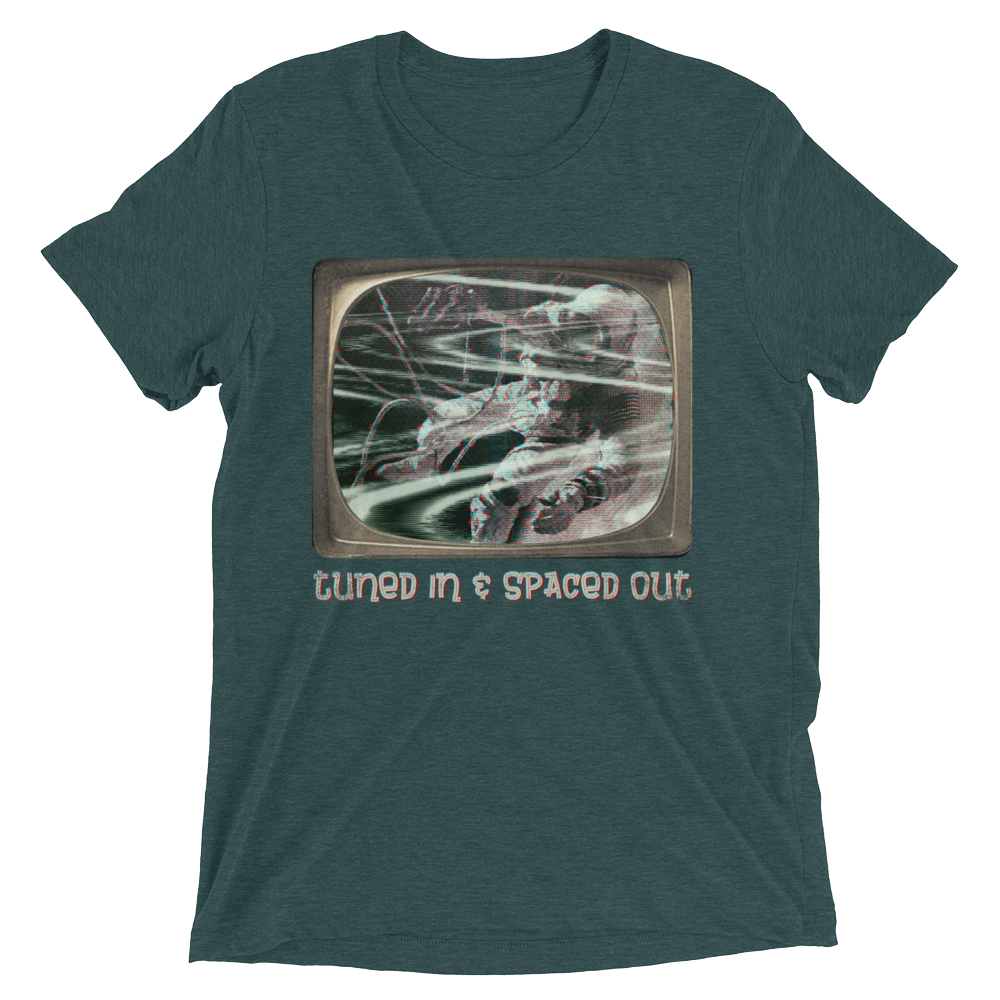 Tuned In & Spaced Out Short Sleeve T-Shirt - SoREALa