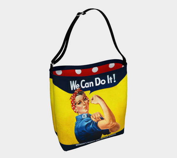 Rosie the Riveter We Can Do It Tote Bag - SoREALa