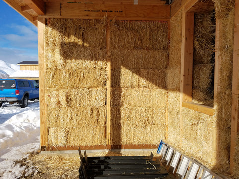 Swift River Farm's Straw Bale House in Salmon, ID
