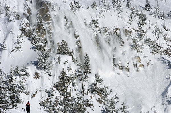 Avalanche in SouthEast Idaho