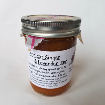 Apricot Ginger Jam with Lavender by Sweet Belly Farm in Salmon, Idaho