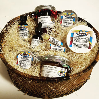 $30.00 Herbal Goodness Gift Basket