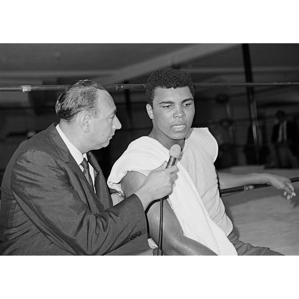 Muhammad Ali and Howard Cosell