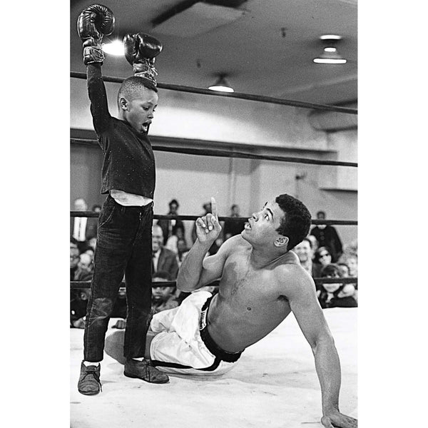Muhammad Ali with Kid