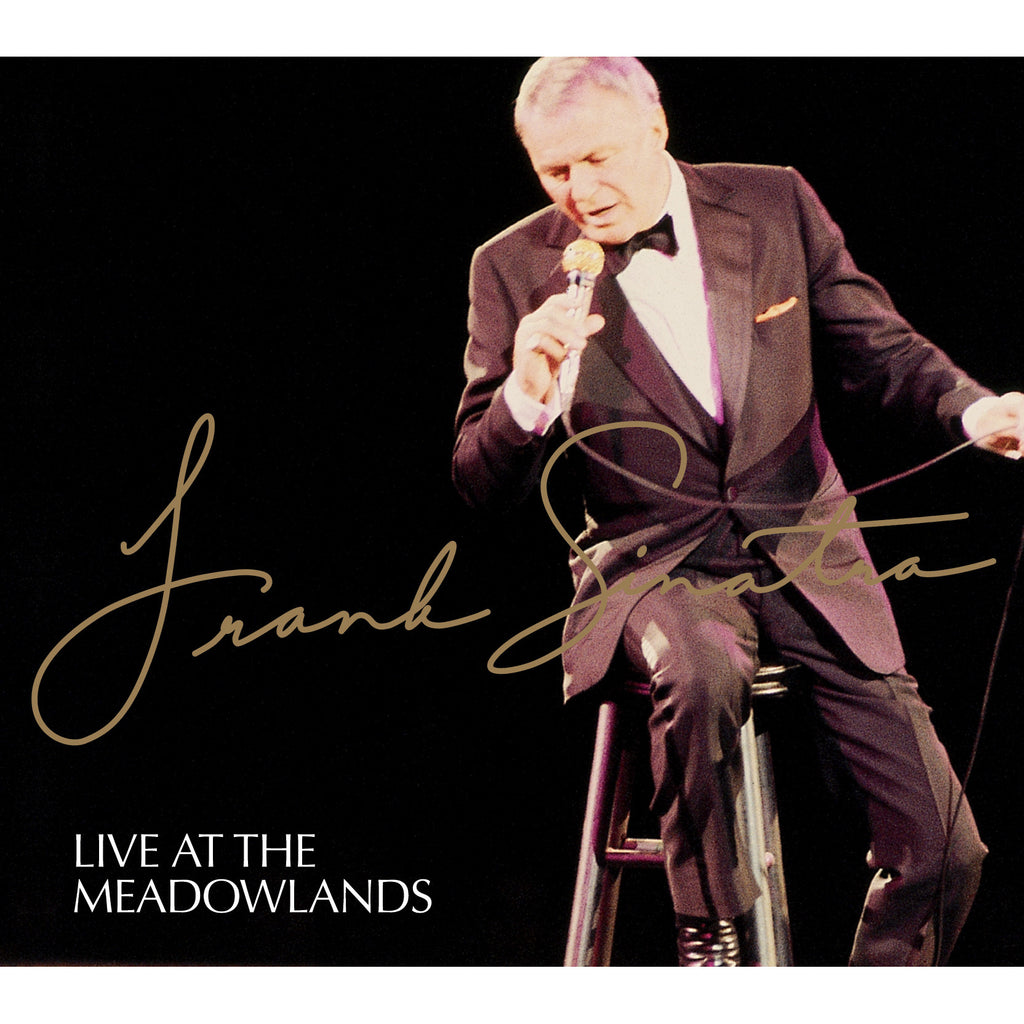Album cover of Frank Sinatra: Live at the Meadowlands