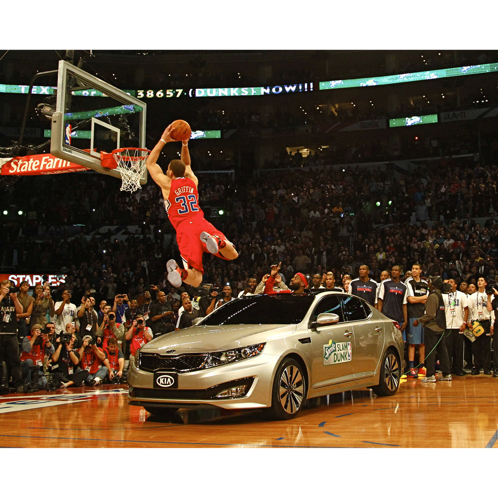 2011 NBA Slam Dunk Contest winner Blake Griffin