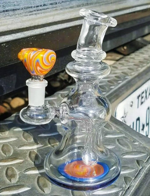 10mm Mini Rig by David M. - Degenerate Glassworks