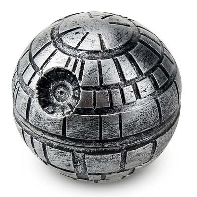 Three Layer Zinc Alloy Death Star Grinder - Degenerate Glassworks