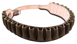 Closed 12 Gauge Belt Brown