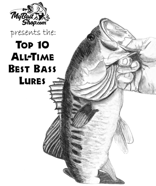 All-Time Great Fishing Lures for Catching Bass!  My Top 10 Best Lures Ever for Bass!
