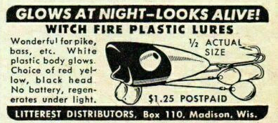 1948 Witch Fire Ad