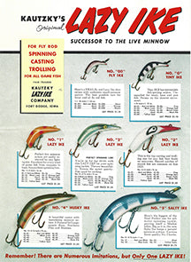 1956 Lazy Ike Catalog Cover Small Version from My Bait Shop