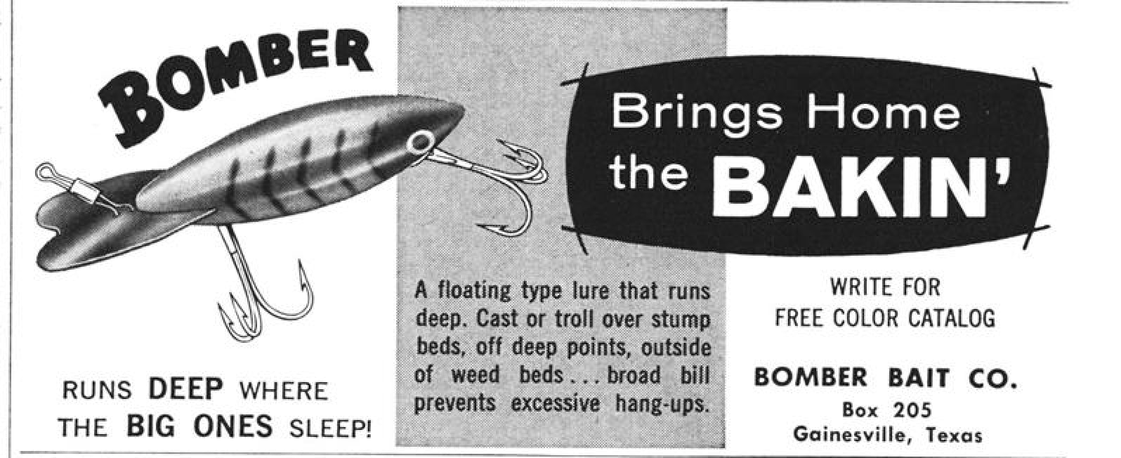 1964 May Bomber Ad