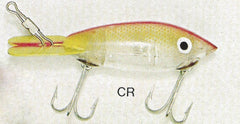 BOMBER COLOR CR-CLEAR-CHARTREUSE AND RED