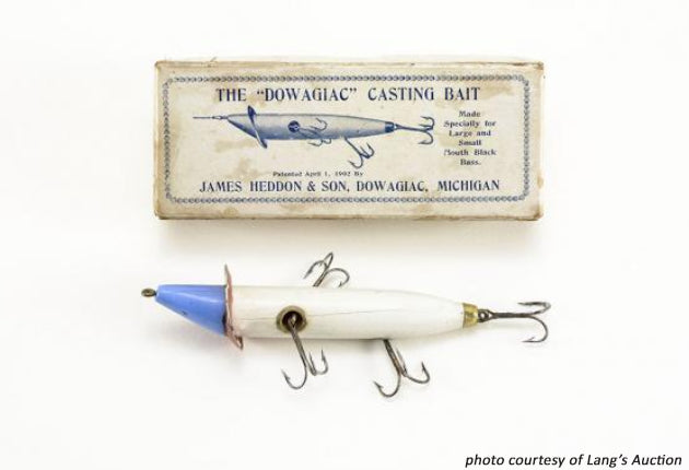 "The ""Dowagiac"" Casting Bait Picture Box"