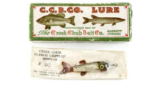 Creek Chub Lure F90:  Flyrod Crippled Minnow