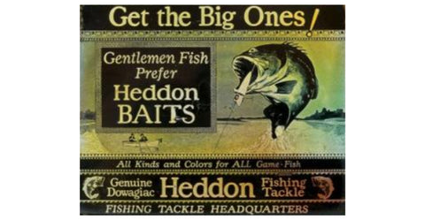 20 Vintage Heddon Fishing Lures Worth a Fortune