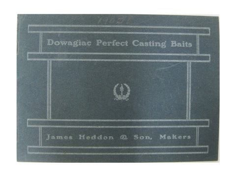 Heddon 1903 Catalog Cover