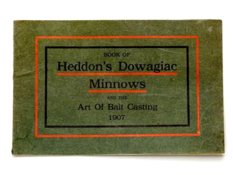 Heddon 1907 Catalog Cover
