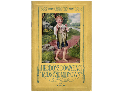 Heddon 1910 Catalog Cover