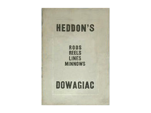 Heddon 1912 Catalog Cover
