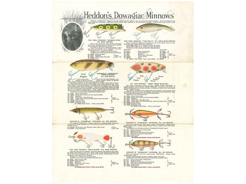 Heddon 1918 Catalog Cover