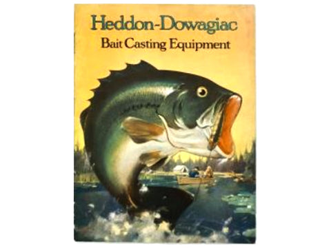 Heddon 1922 Catalog Cover