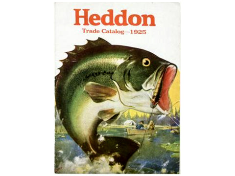 Heddon 1925 Catalog Cover