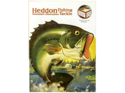 Heddon 1926 Catalog Cover