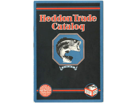 Heddon 1927 Catalog Cover
