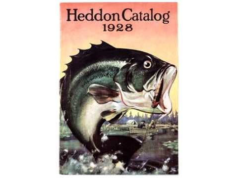 Heddon 1928 Catalog Cover