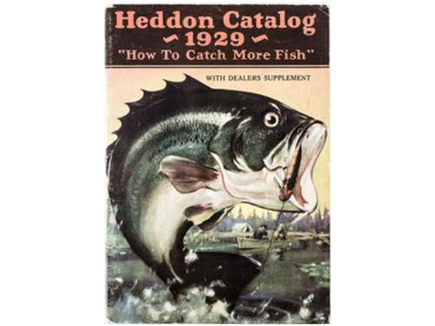Heddon 1929 Catalog Cover