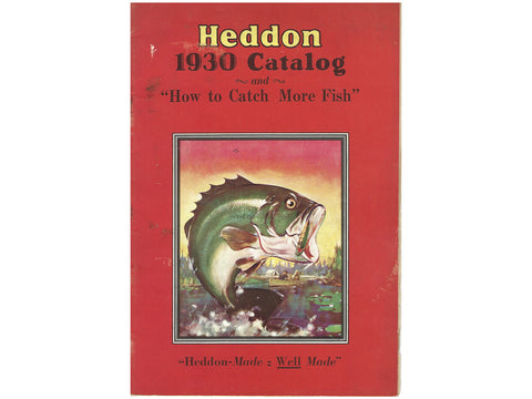 Heddon 1930 Catalog Cover