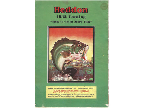 Heddon 1932 Catalog Cover