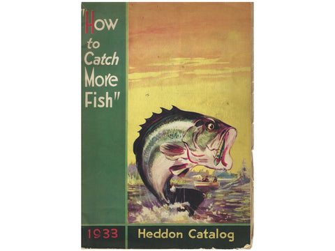 Heddon 1933 Catalog Cover