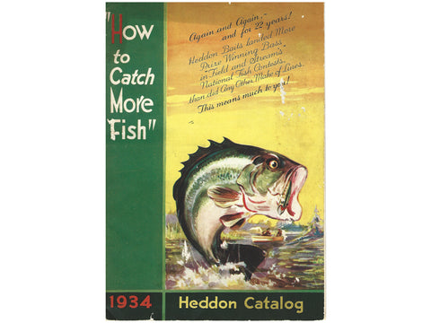 Heddon 1934 Catalog Cover