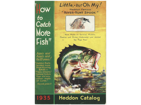 Heddon Catalog Cover 1935