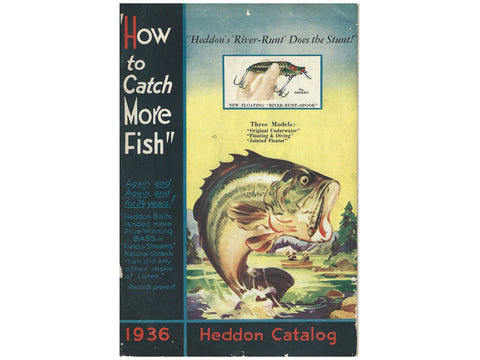 Heddon 1936 Catalog Cover