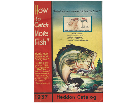 Heddon 1937 Catalog Cover