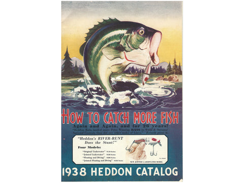 Heddon 1938 Catalog Cover