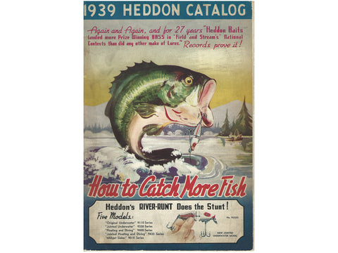 Heddon 1939 Catalog Cover