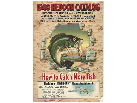 Heddon 1940 Catalog Cover