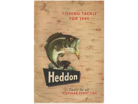 Heddon 1949 Catalog Cover