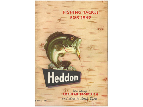 Heddon 1949 Catalog Cover - 80 page version