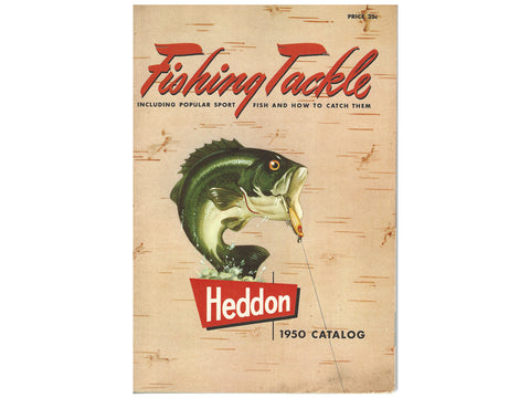 Heddon Deluxe 1950 Catalog Cover