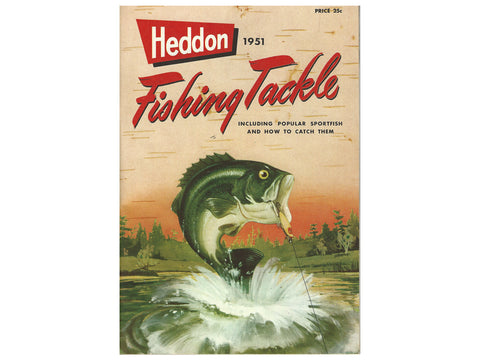 Heddon Deluxe 1951 Catalog Cover